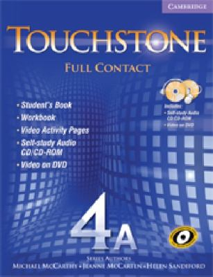 Touchstone 4a Full Contact [With DVD] 9780521744232
