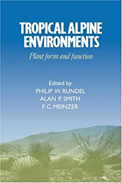 Tropical Alpine Environments: Plant Form and Function 9780521420891