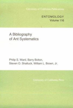 Uc Publications in Entomology