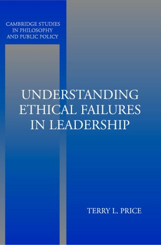 Understanding Ethical Failures in Leadership 9780521545976