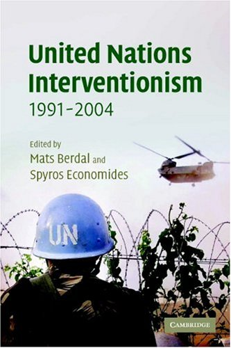 United Nations Interventionism, 1991-2004 9780521547673