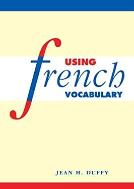 Using French Vocabulary 9780521578516