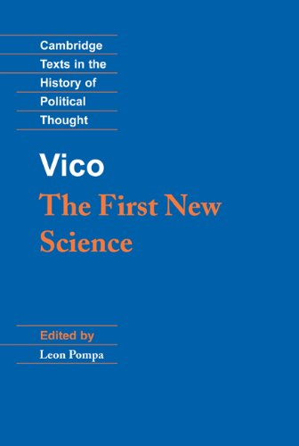 Vico: The First New Science 9780521382908