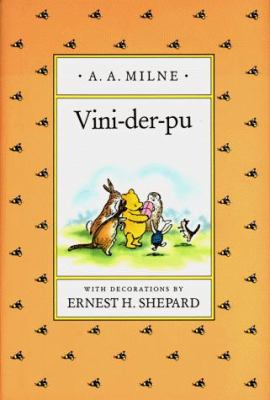 Vini-Der-Pu, a Yiddish Version of Winnie-The-Pooh 9780525463382