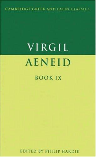 Virgil: Aeneid Book IX 9780521359528