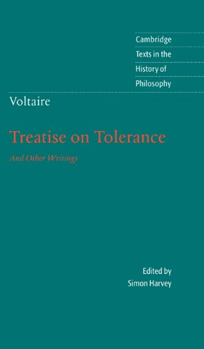 Voltaire: Treatise on Tolerance 9780521640176