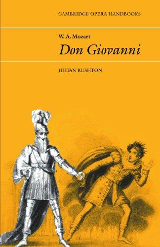 W.A. Mozart, Don Giovanni 9780521296632