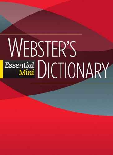 Webster's Essential Mini Dictionary 9780521133135