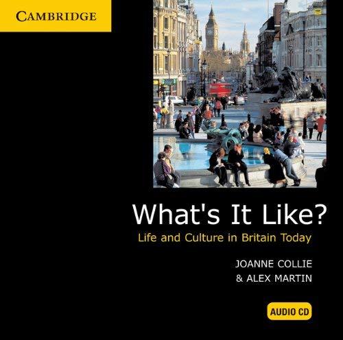 What's It Like? Audio CD 9780521152907