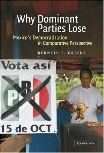 Why Dominant Parties Lose: Mexico's Democratization in Comparative Perspective 9780521877190