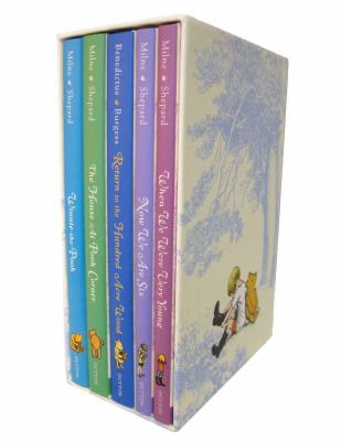 The World of Winnie-The-Pooh Deluxe Gift Box 9780525422921