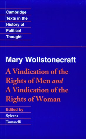 Wollstonecraft: A Vindication of the Rights of Man and a Vindication of the Rights of Woman and Hints 9780521436335