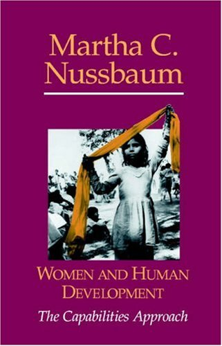 Women and Human Development: The Capabilities Approach 9780521003858