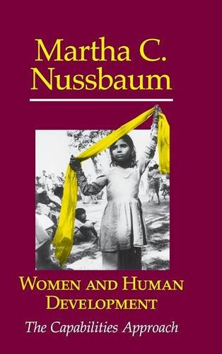 Women and Human Development: The Capabilities Approach 9780521660860