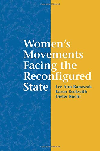 Women's Movements Facing the Reconfigured State 9780521012195