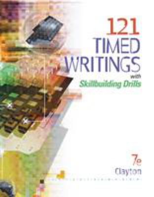 121 Timed Writings: With Skillbuilding Drills 9780538974905