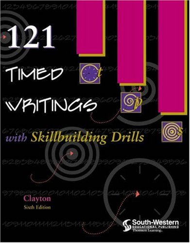 121 Timed Writings with Skillbuilding Drills 9780538692403