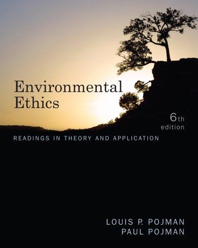 Environmental Ethics 9780538452847