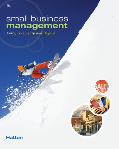 Small Business Management: Entrepreneurship and Beyond 9780538453141