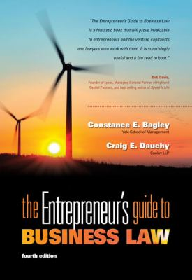 The Entrepreneur's Guide to Business Law 9780538466462