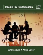 Income Tax Fundamentals 2011 (with H&r Block at Home Tax Preparation Software CD-ROM) 10247130