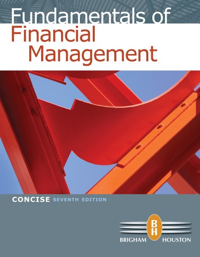 Fundamentals of Financial Management - 7th Edition