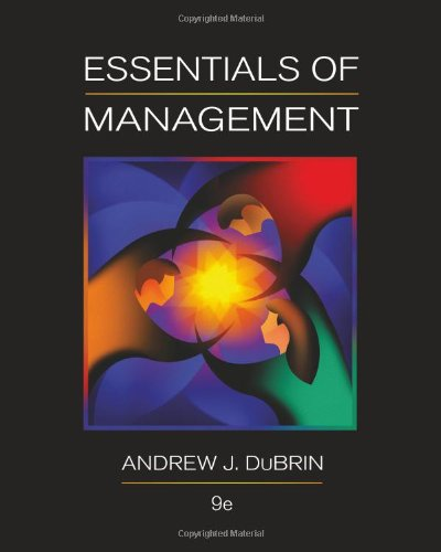 Essentials of Management 9780538478236
