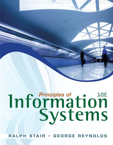 Principles of Information Systems (with Online Content Printed Access Card) 9780538478298