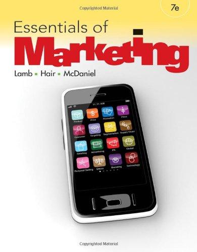 Essentials of Marketing 9780538478342