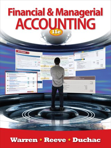 Financial & Managerial Accounting 9780538480895