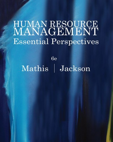 Human Resource Management: Essential Perspectives 9780538481700
