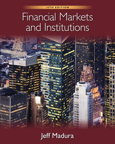 Financial Markets and Institutions [With Stock-Trak Coupon] 9780538482134