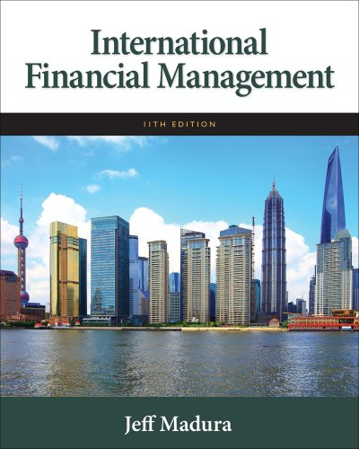 International Financial Management - 11th Edition