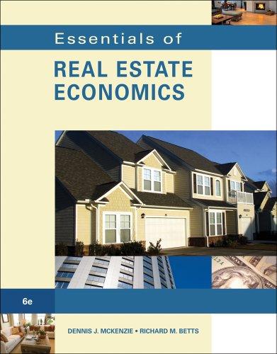 Essentials of Real Estate Economics 9780538739696