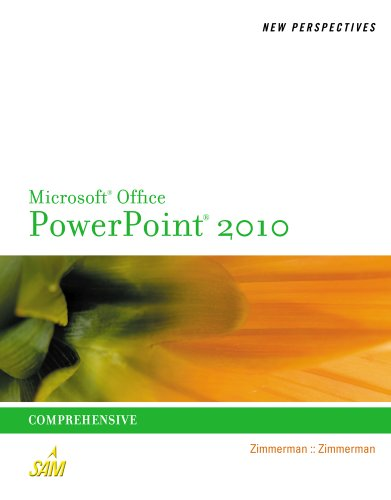 New Perspectives on Microsoft PowerPoint 2010, Comprehensive 9780538753722