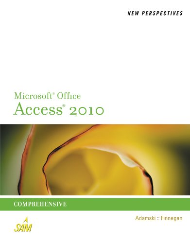 New Perspectives MS Access 2010 9780538798471