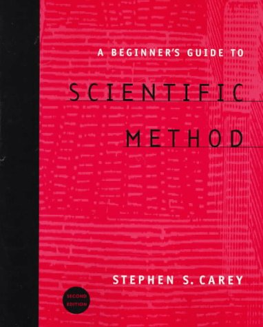A Beginner's Guide to Scientific Reasoning 9780534528430