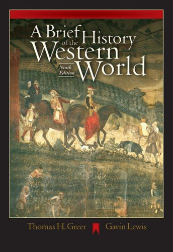 A Brief History of the Western World (with CD-ROM and Infotrac) [With CDROM and Infotrac] 9780534642365