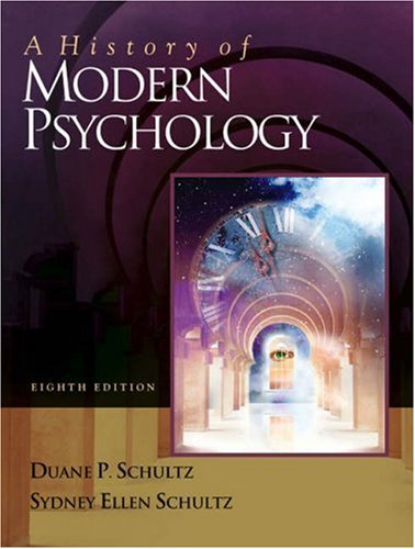 A History of Modern Psychology [With Infotrac] 9780534557751