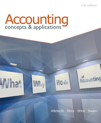 Accounting: Concepts and Applications 9780538745482