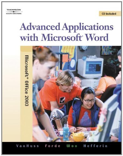 Advanced Applications with Microsoft Word [With CDROM] 9780538728287