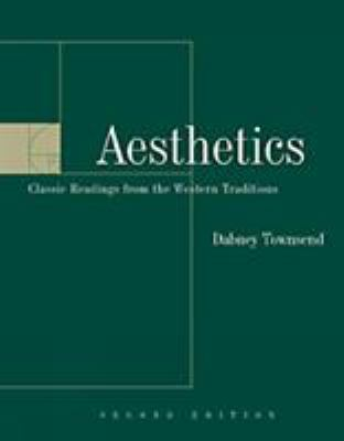 Aesthetics: Classic Readings from the Western Tradition 9780534551469