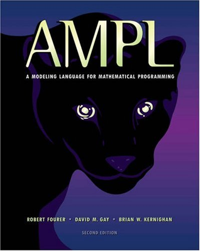 Ampl: A Modeling Language for Mathematical Programming 9780534388096