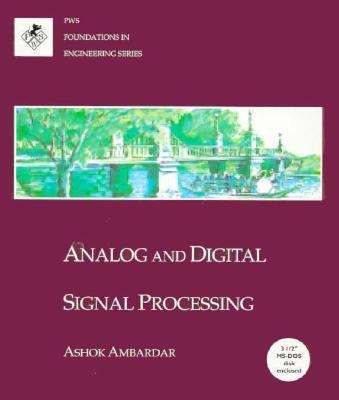 Analog and Digital Signal Processing 9780534940867