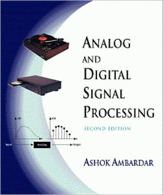 Analog and Digital Signal Processing 9780534954093