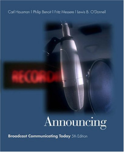 Announcing: Broadcast Communicating Today (with Infotrac) [With Infotrac] 9780534563103