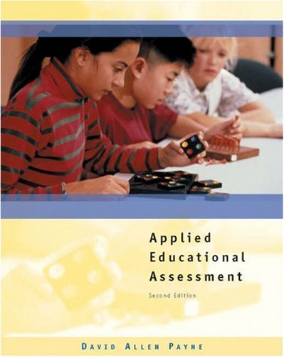 Applied Educational Assessment [With CDROM] 9780534602826