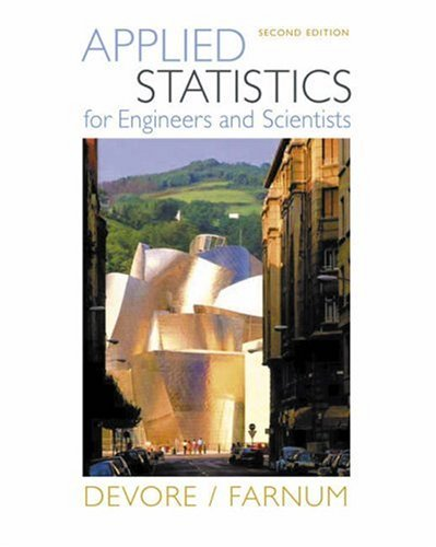 Applied Statistics for Engineers and Scientists [With CDROM] 9780534467197