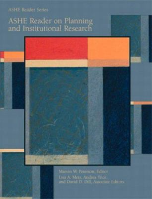 Ashe Reader on Planning and Institutional Research 9780536023681