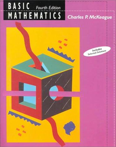 Basic Mathematics 9780534947705